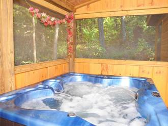 splendor pines hot tub