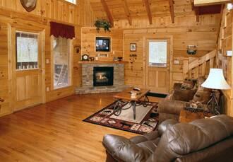 Smoky Mountain Cabin Rental by Diamond Mountain Rentals