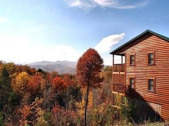 Scenic Ridge Cabin in Gatlinburg TN
