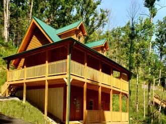 Hidden Springs Cabin in Gatlinburg TN
