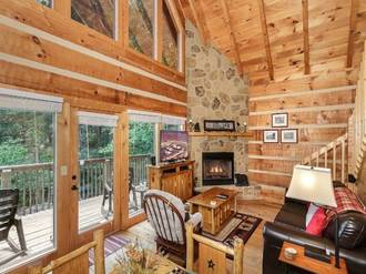 Highland Hideaway Cabin in Gatlinburg TN