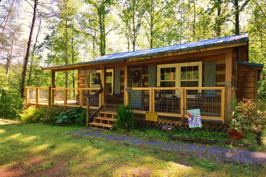 Fly Away 1 Bedroom Vacation Cabin Rental In Pigeon Forge Tn