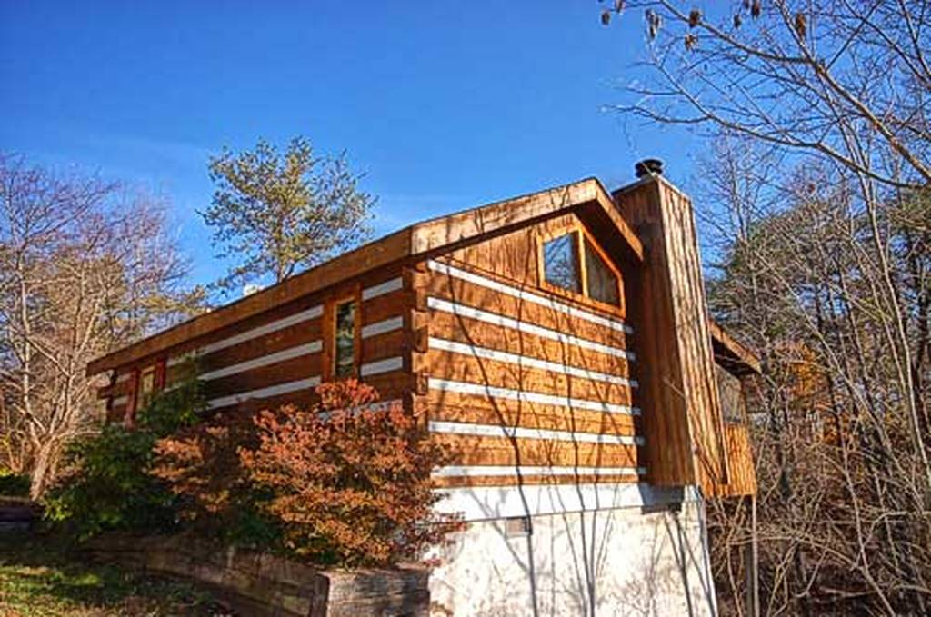 Bear elegance 1 bedroom pet friendly cabin rental in for Large cabin rentals in tennessee