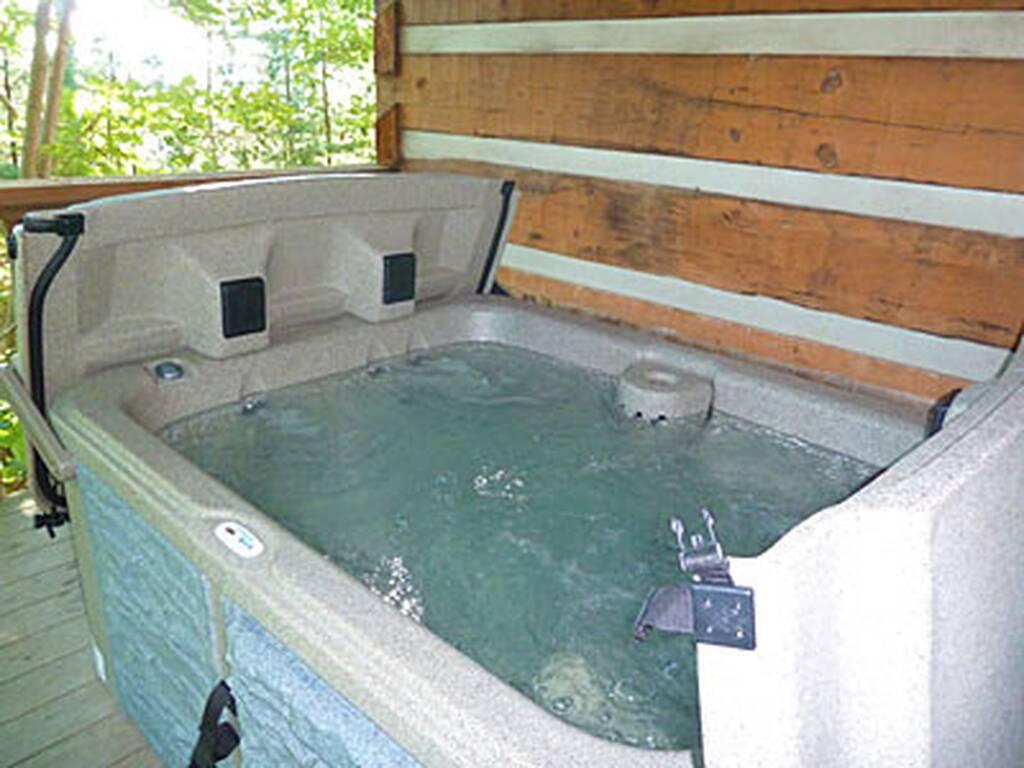 Soak in the Hot Tub