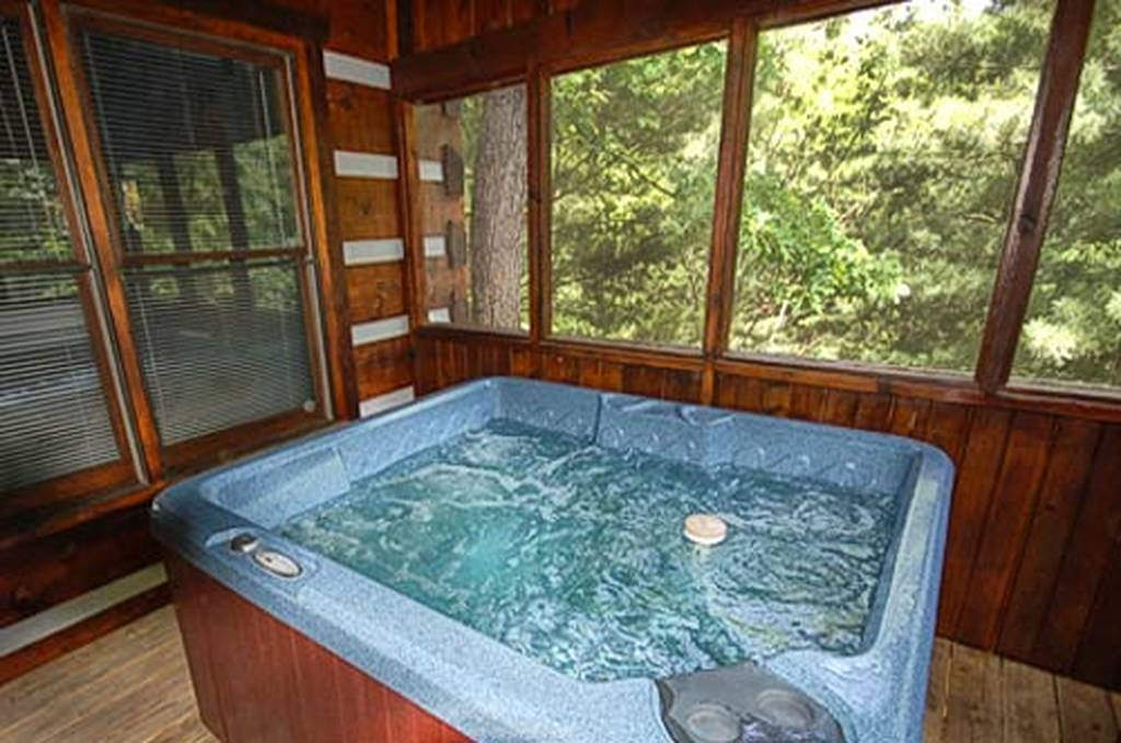 Soak in the Hot Tub
