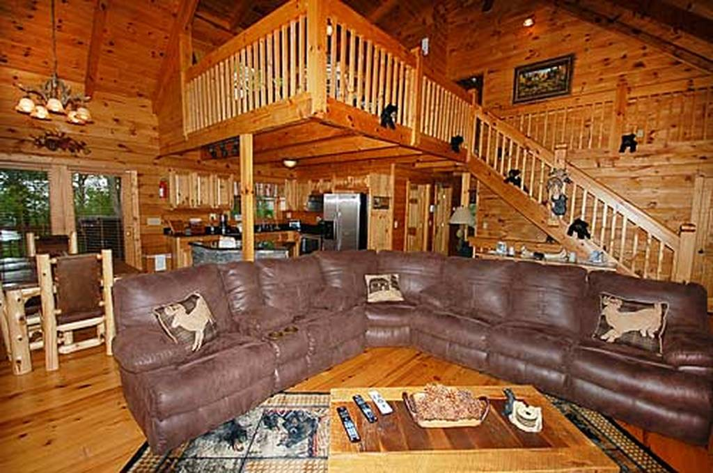 Black bear lodge 4 bedroom vacation cabin rental in pigeon - 4 bedroom cabins in gatlinburg tn ...