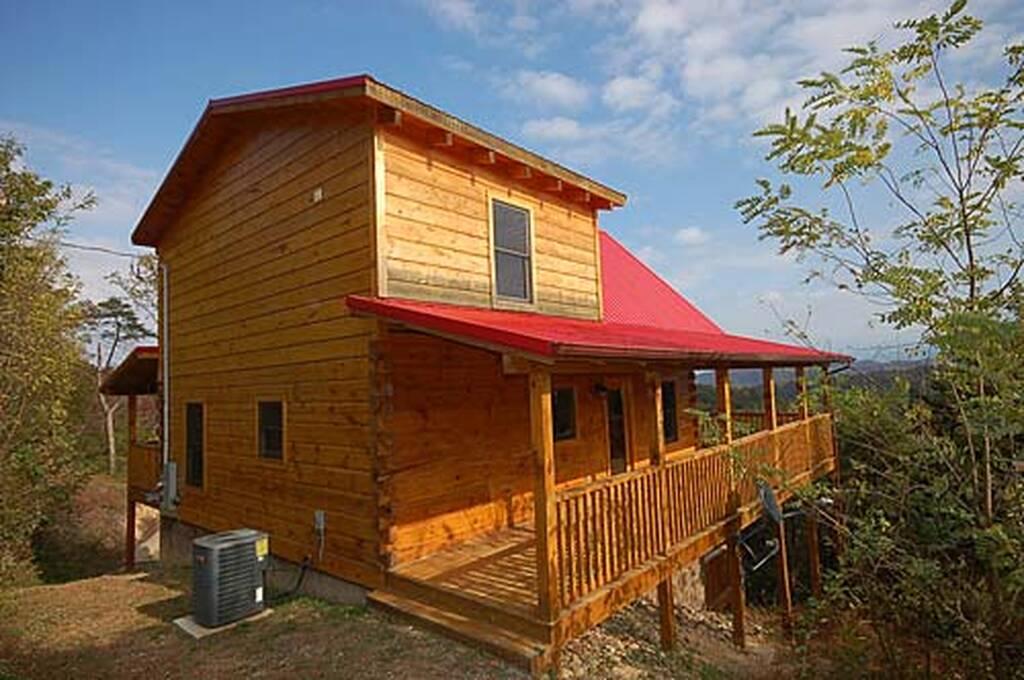Aint No Cabin High Enough Log Cabin