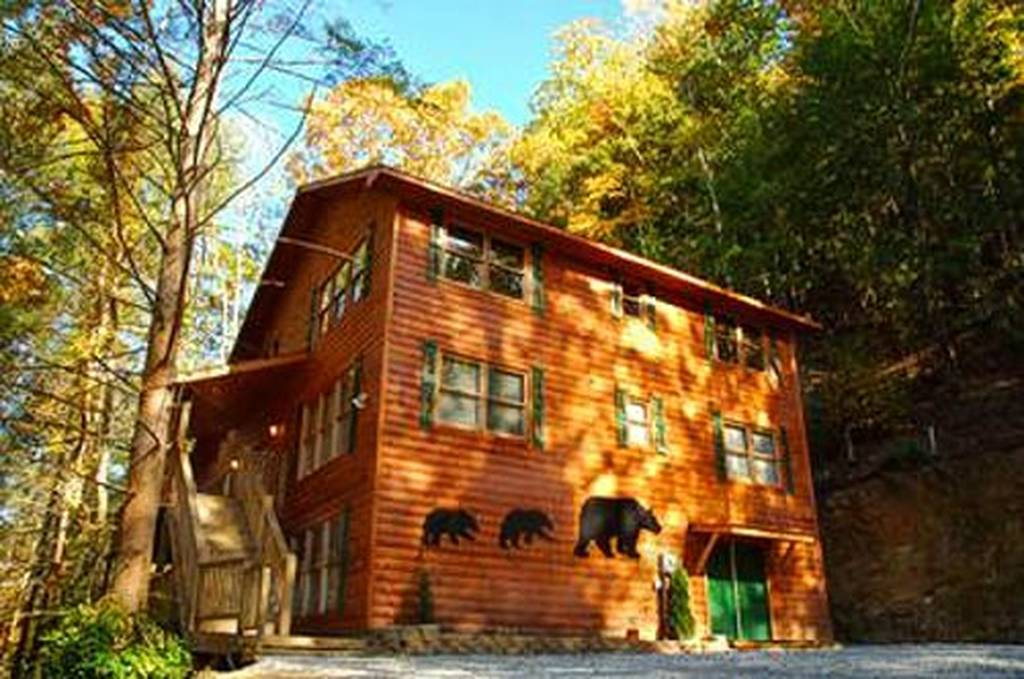 Bear Britches Lodge Cabin