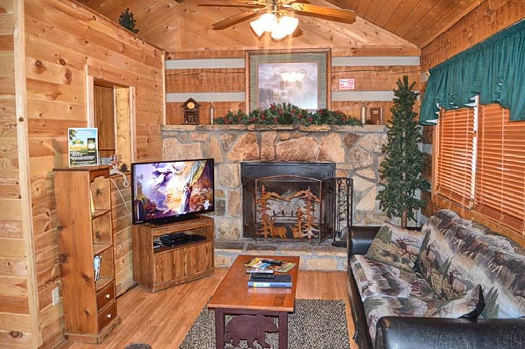 Relax by the Living Room w/ Fireplace and TV