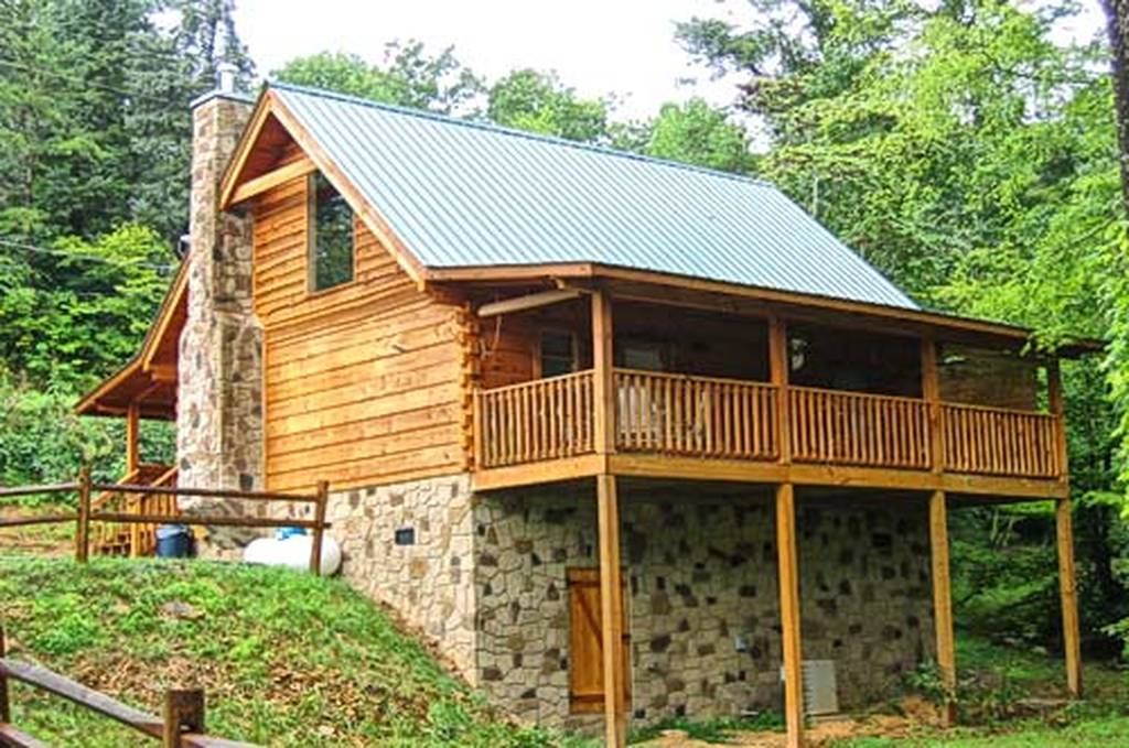 Western Charm 1 Bedroom Vacation Cabin Rental In Pigeon Forge Tn