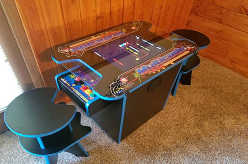 Multi-Arcade Game Cocktail table