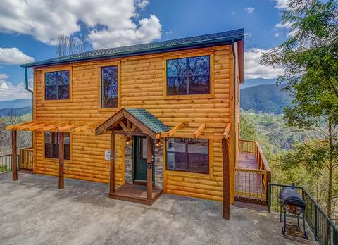 GATLINBURG VIEW LODGE 8 Bedroom Cabin Rental