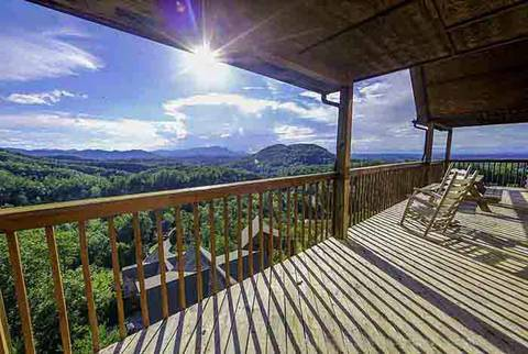 HEAVEN'S CORNER 7 Bedroom Cabin Rental