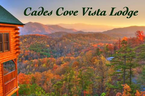 CADES COVE VISTA LODGE Cabin Rental