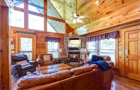MOUNTAIN FLOWER 4 Bedroom Cabin Rental