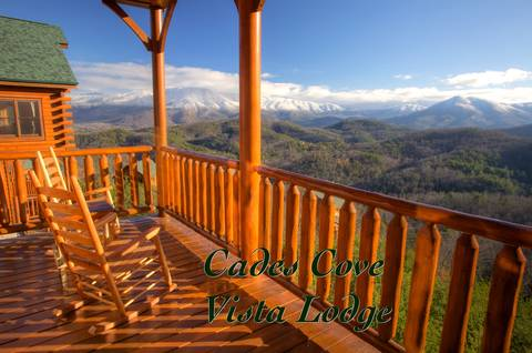 CADES COVE VISTA LODGE 1 Bedroom Cabin Rental