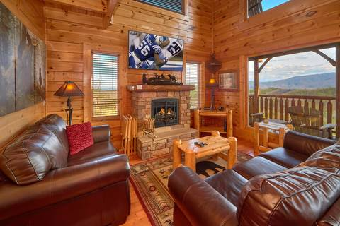 MILLION DOLLAR VIEW Cabin Rental