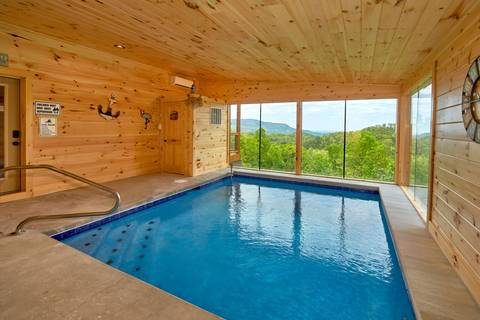 PRESERVE POOL LODGE 4 Bedroom Cabin Rental