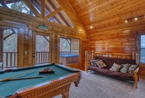 A RUSTIC RETREAT Cabin Rental