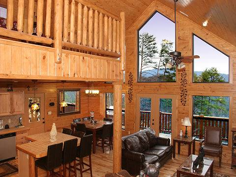 CAN'T BEAR TO LEAVE 5 Bedroom Cabin Rental