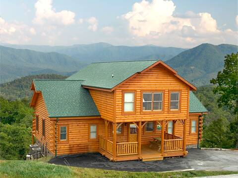 Find a large cabin rental in gatlinburg pigeon forge tn - 4 bedroom cabins in gatlinburg tn ...