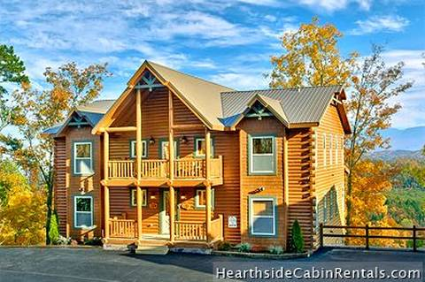 Large Bedroom Chalets And Group Cabin Rentals In Gatlinburg - 7 bedroom cabins in gatlinburg tn
