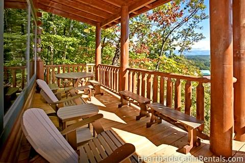 MAJESTIC VIEW LODGE Cabin Rental