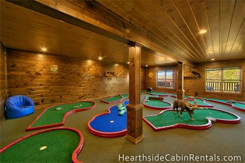 Eight Bedroom Gatlinburg Cabins, Pigeon Forge Cabins - Hearthside ...