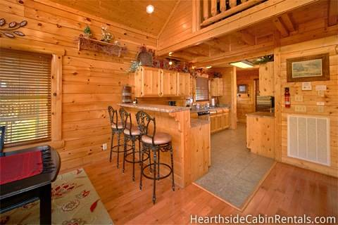 BEAR-A-DISE IN THE SMOKIES Cabin Rental