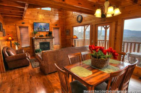 HEAVENLY INSPIRED 1 Bedroom Cabin Rental