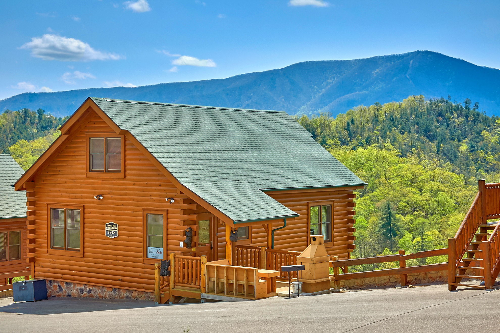 BEAR A DISE IN THE SMOKIES 2 BEDROOM cabin located in