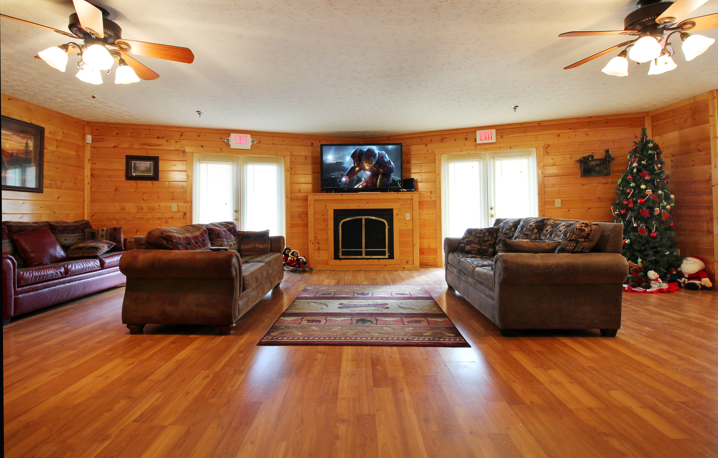 big photo bear youtube rental x bedroom indoor pool vacation cheap sleep cabin cabins lakefront and marvelous of rentals