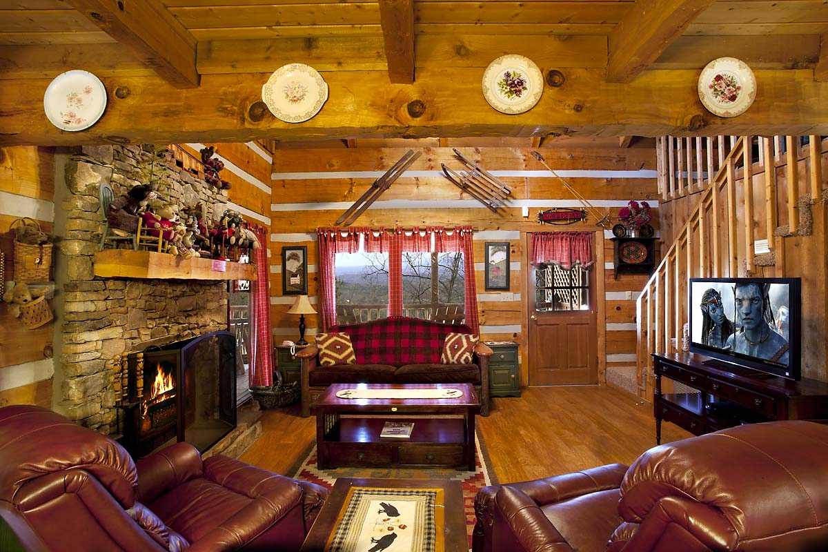 view room pigeon tn cabin gatlinburg forge large rentals in cabins with living first