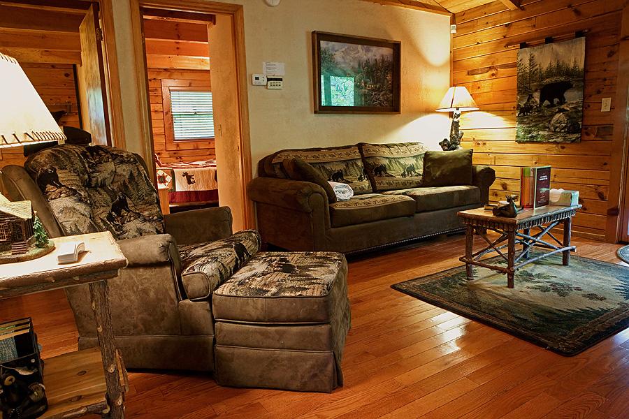 Rustic Dreams Aks Honeybear Hideaway 2 Bedroom Cabin