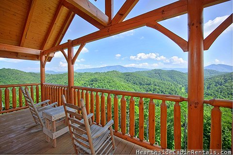 Smoky mountain high 3 bedroom cabin located in for Smoky mountain nc cabin rentals