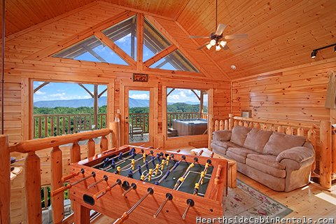 Smoky mountain high 3 bedroom cabin located in for 3 bedroom cabins in smoky mountains