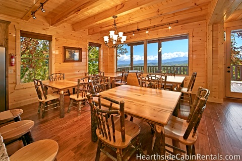 cabin rental by Hearthside Cabin Rentals
