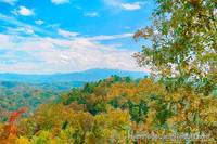 Mountain View from Amazing View Manor cabin in Pigeon Forge