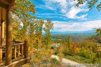 Grand View Lodge Pigeon Forge cabin with secluded feel