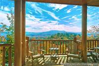 Scenic Smoky Mountain view from Pigeon Forge cabin Grand View Lodge