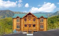 13 bedroom cabin in Pigeon Forge Majestic View Lodge