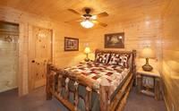 8 bedroom cabin in the Smoky Mountains with handmade furniture