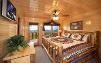 8 bedroom Cabin in Pigeon Forge with master suite and private deck