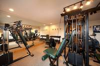 Remodeled exercise room at The Preserve Resort