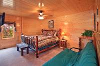 Dream View Manor is a relaxing large Pigeon Forge cabin rental with 12 bedrooms