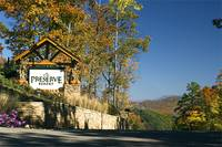 Entrance to The Preserve Resort in Wears Valley