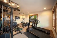 Exercise facility with treadmills at The Preserve Resort in Pigeon Forge