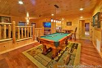 13 bedroom Pigeon Forge cabin with pool table