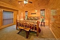 Large Pigeon Forge cabin rental with 13 bedrooms