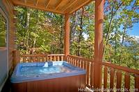13 bedroom cabin in Pigeon Forge with two hot tubs
